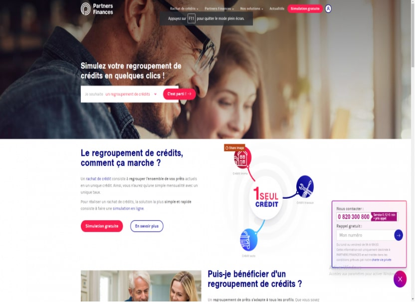 partner-finance.fr comparateur en ligne de rachats de crédits