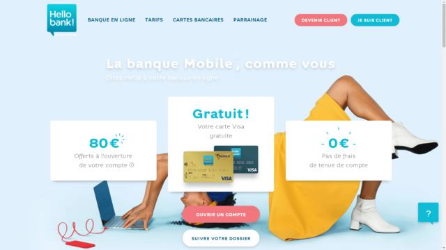 Notre avis sur votre banque en ligne Hello Bank !