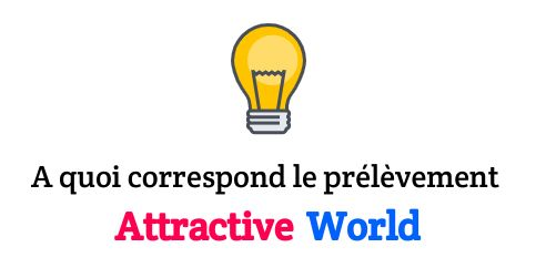 prélevé par attractive world