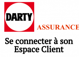 se connecter darty assurance