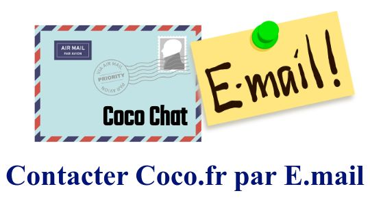 contacter coco chat par email